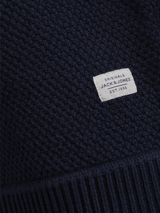 SHAWL NECK ORIGINALS SWEATER Total Eclipse
