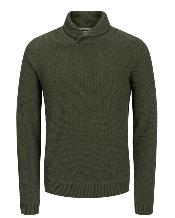 SHAWL NECK ORIGINALS SWEATER Forest Night