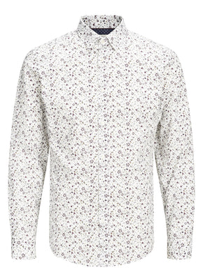 SLIM FIT PREMIUM FLORAL SHIRT