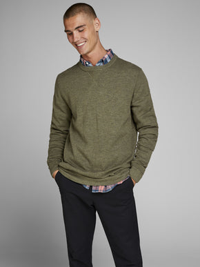 TONE-ON-TONE PREMIUM SWEATER