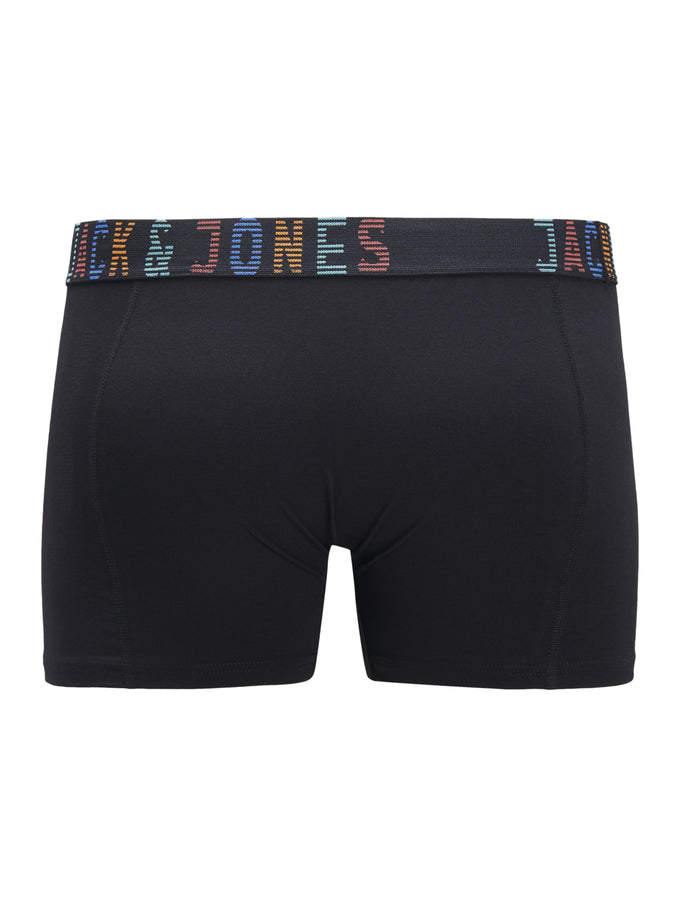 CONTRAST WAISTBAND BOXERS Black