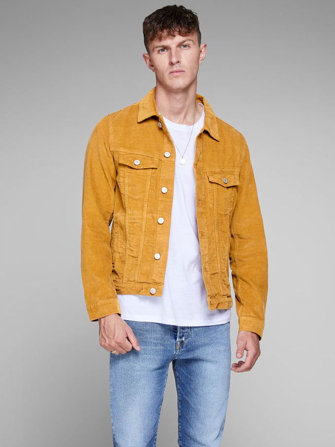 CORDUROY JACKET Golden Brown