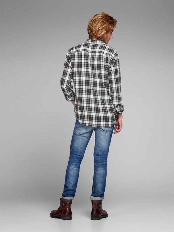 CHECKERED COMFORT FIT ORIGINALS SHIRT Tap Shoe