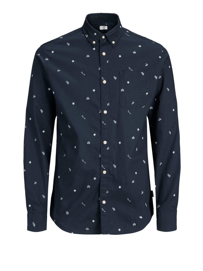 SYMBOLS SLIM FIT SHIRT Total Eclipse