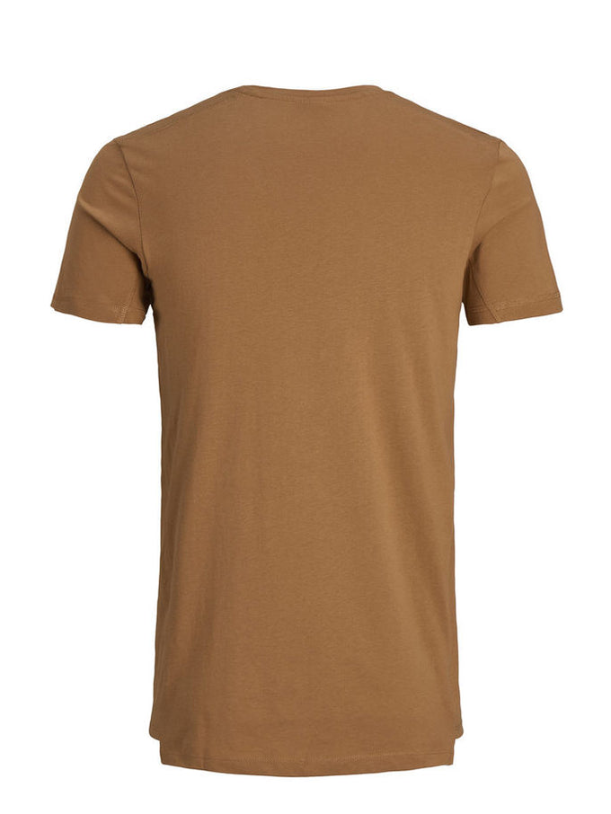CORE T-SHIRT WITH BUCKLE DETAIL Chipmunk