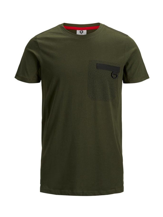 CORE T-SHIRT WITH BUCKLE DETAIL Rosin