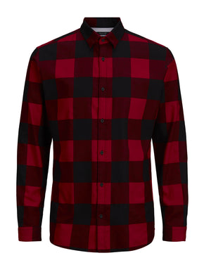 SLIM FIT CLASSIC CHECKERED SHIRT