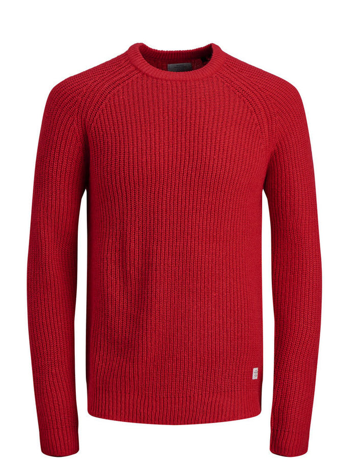 COLOURFUL ORIGINALS SWEATER Fiery Red