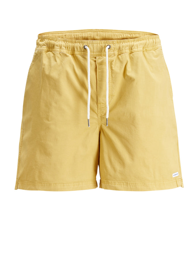 BASIC BEACH SHORTS Ochre