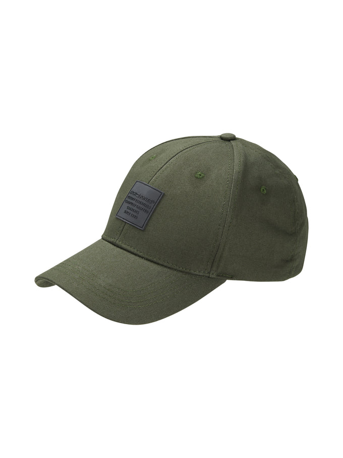 LOGO HAT WITH BUCKLE STRAP Forest Night