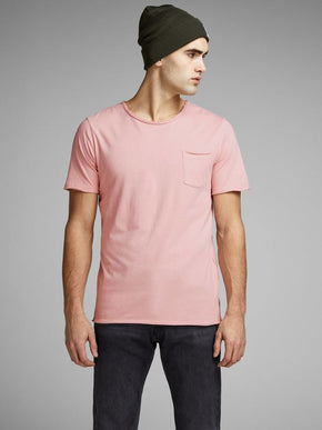 LONG FIT T-SHIRT WITH RAW EDGES