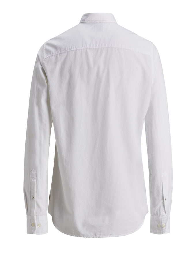 LINEN PREMIUM SUMMER SHIRT White
