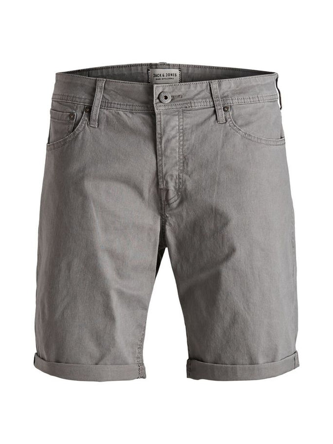 CLASSIC DENIM REGULAR FIT SHORTS Steel Gray