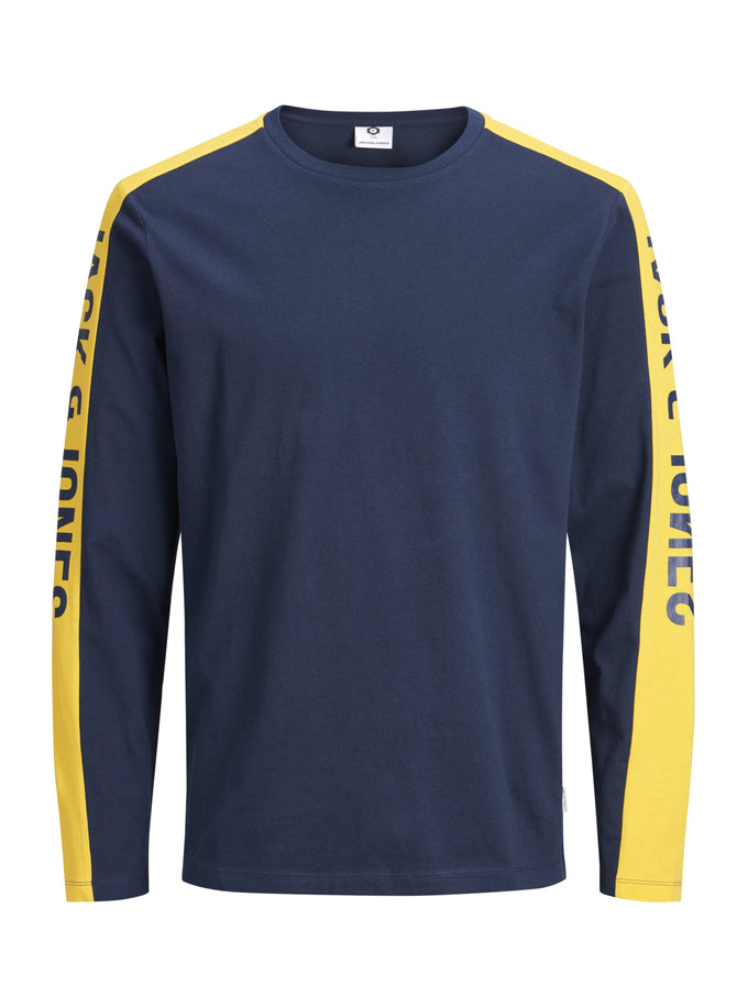 LONG SLEEVE CORE T-SHIRT Sky Captain