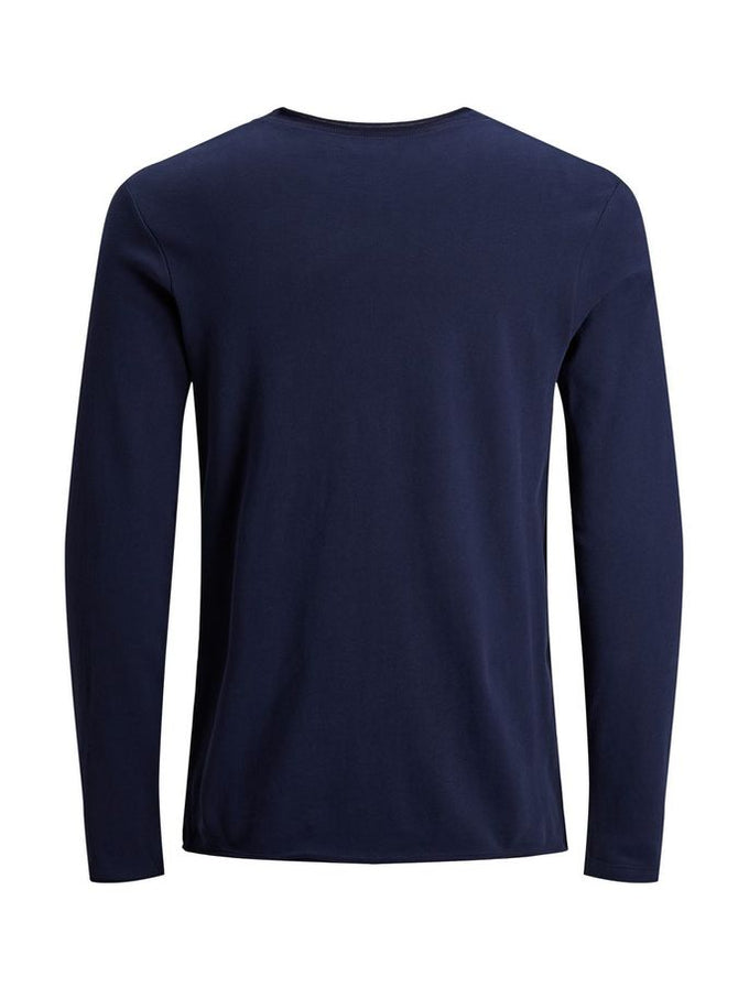 VISCOSE BLEND PREMIUM SWEATER Maritime Blue