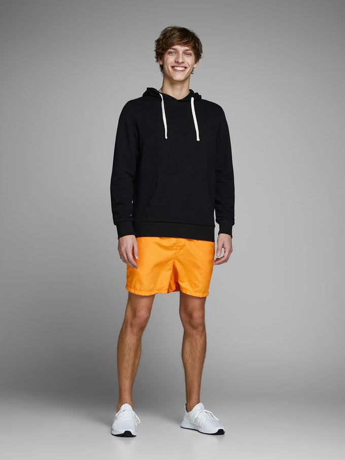 COLOURFUL SWIM SHORTS Flame Orange