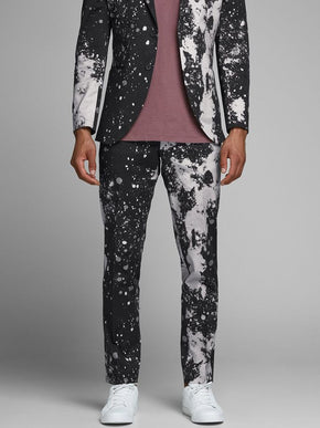 PAINT SPLATTER DRESS PANTS