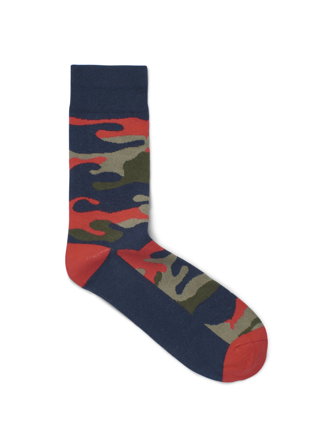 CAMO SOCKS Fiery Red