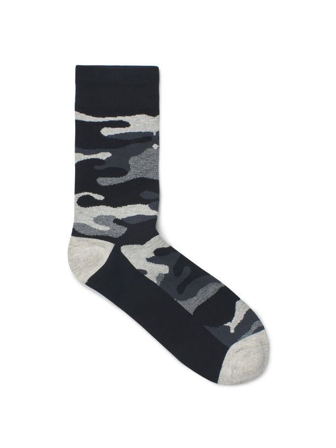 CAMO SOCKS Light Grey Melange