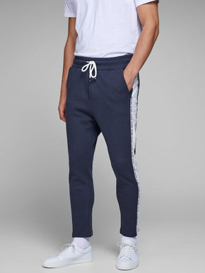 CORE SWEATPANTS WITH STRIPED SIDES