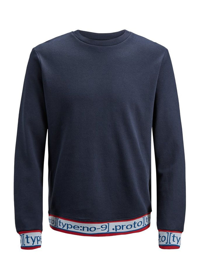 ATHLETIC STYLE CREWNECK Sky Captain