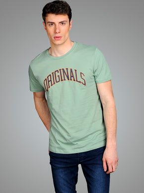 ORIGINALS T-SHIRT WITH OUTLINED PRINT