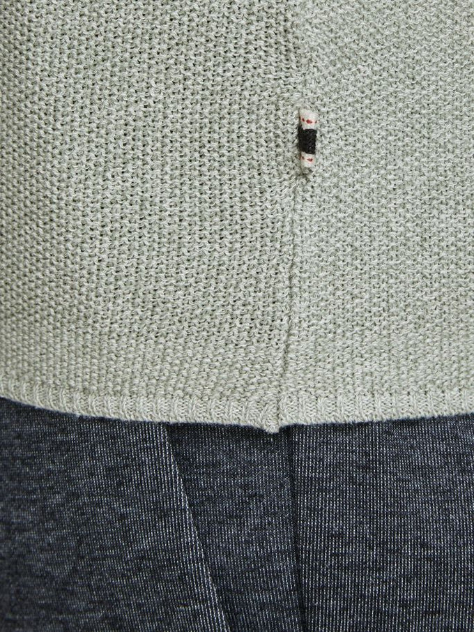 MELANGE STYLE CLASSIC SWEATER Lily Pad