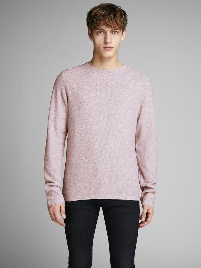 MELANGE STYLE CLASSIC SWEATER Toadstool