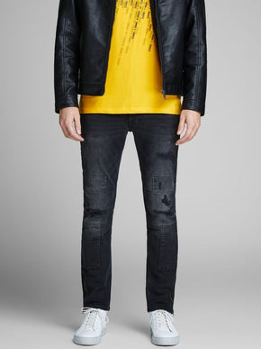SLIM FIT GLENN 002 PATCH DETAILED JEANS