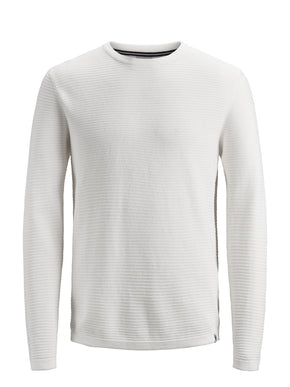 LIGHT CORE TEXTURED SWEATER