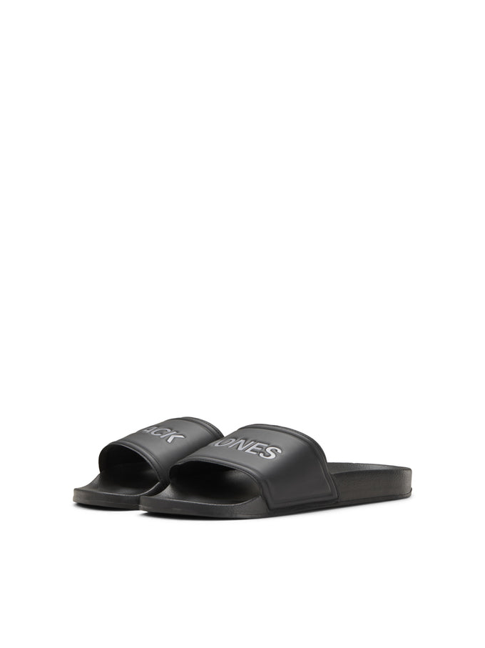 JACK & JONES BLACK POOL SLIDERS Anthracite