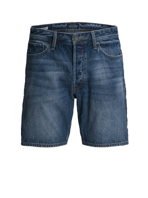 CHRIS 125 DENIM SHORTS WITH STRIPES