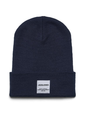 LONG BEANIE WITH EMBROIDERED LOGO
