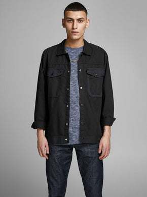 FINAL SALE – WORKER STYLE OVERSHIRT