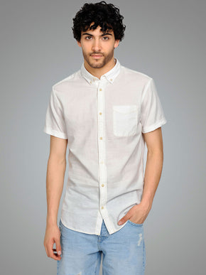 MICRO-DOTS SHORT SLEEVE SHIRT