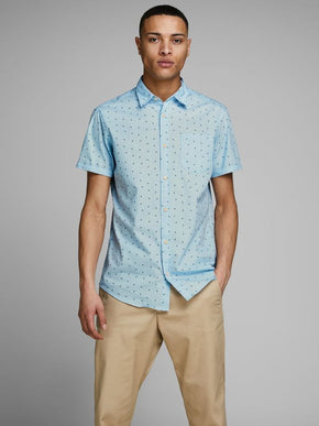 SMALL PRINT ORIGINALS SHORT SLEEVE SHIRT
