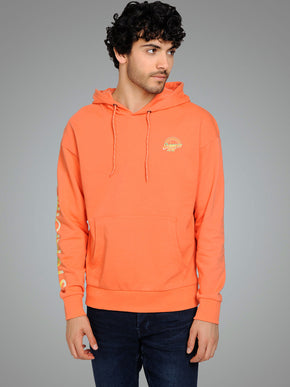 SUMMER HOODIE WITH GRADIENT EFFECT