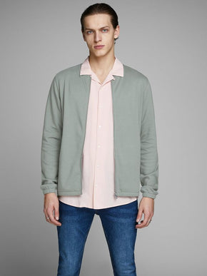 SWEAT STYLE BOMBER JACKET