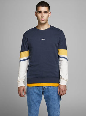 SWEATSHIRT WITH RETRO STYLE SLEEVES