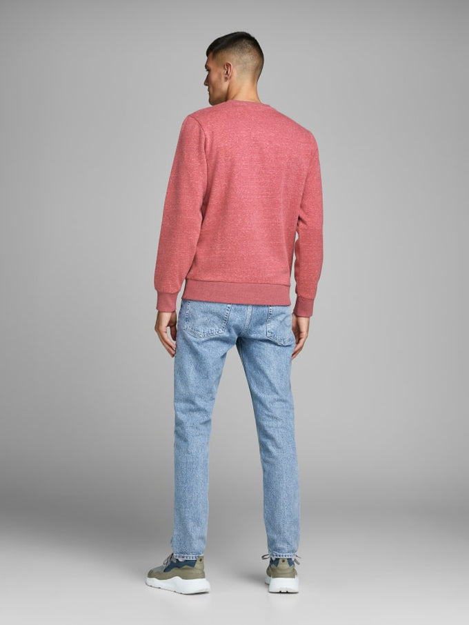 ORIGINALS SPECKLED SWEATSHIRT Brick Red
