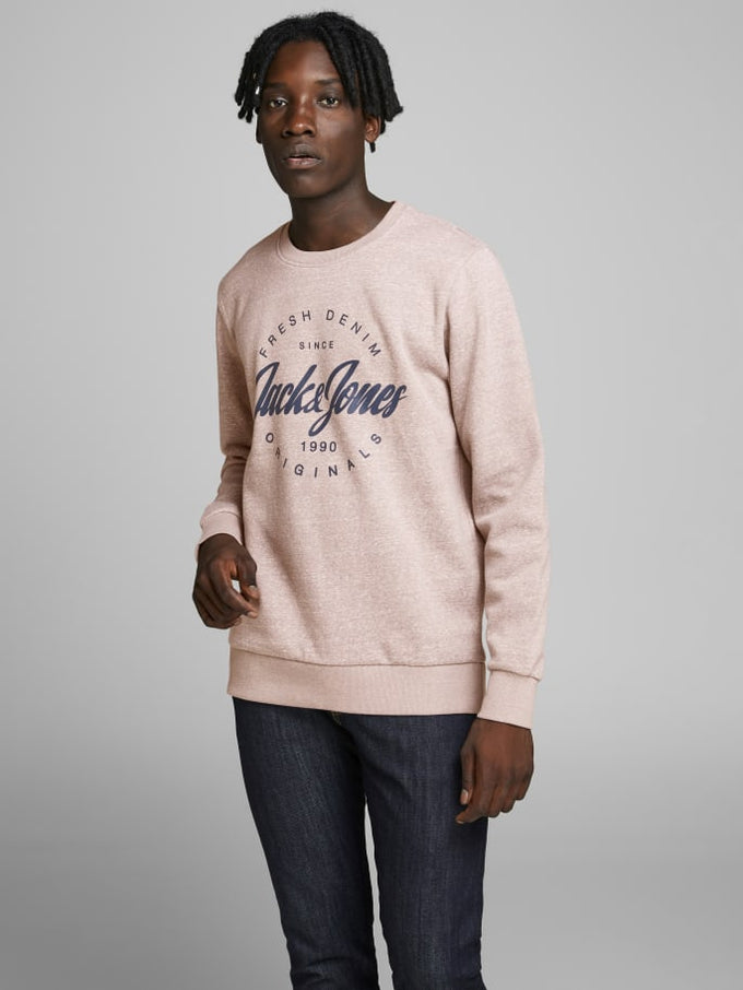 ORIGINALS SPECKLED SWEATSHIRT Light Grey Melange