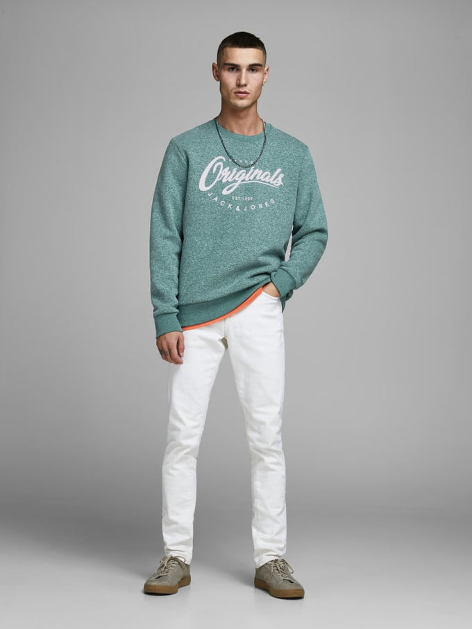 ORIGINALS SPECKLED SWEATSHIRT Sea Moss