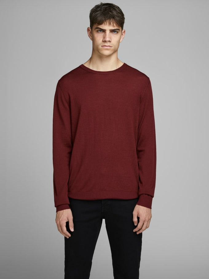 MARK MERINOS WOOL SWEATER Fired Brick