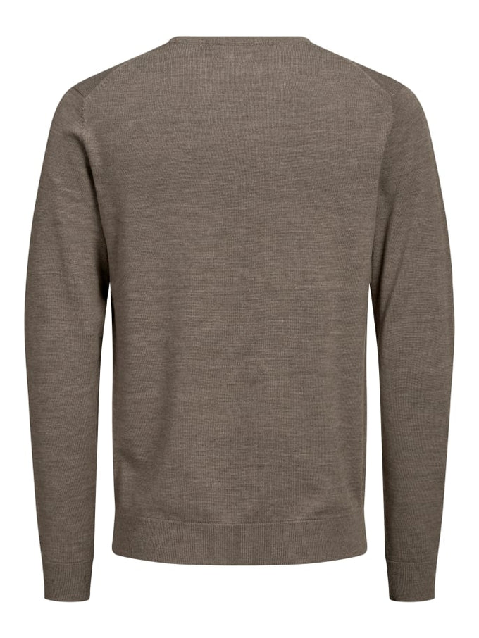 MARK MERINOS WOOL SWEATER Oatmeal