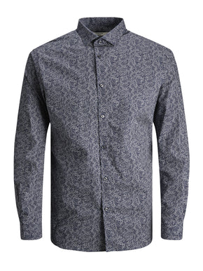 SLIM FIT PREMIUM MICRO-PRINT SHIRT