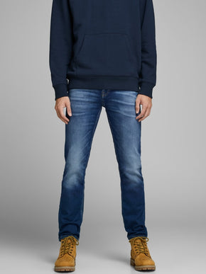 TIM 227 INDIGO KNIT SLIM FIT STRETCH JEANS