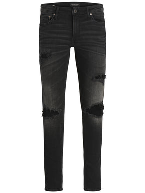 SLIM FIT GLENN 847 JEANS WITH RIPPED KNEES