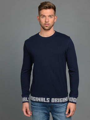 ORIGINALS CREWNECK WITH ELASTIC EDGES