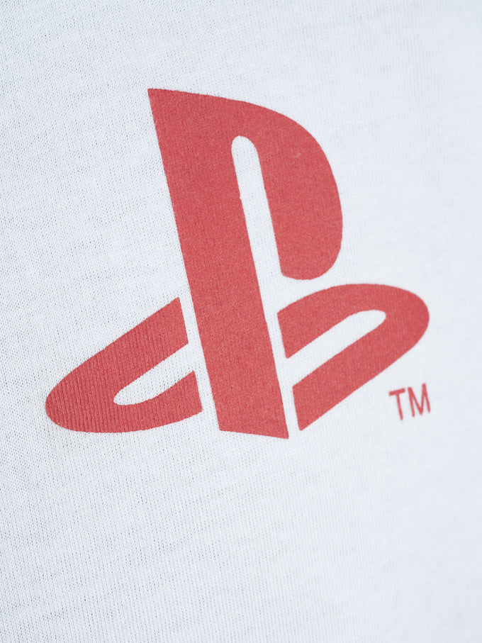 PLAYSTATION LONG SLEEVE T-SHIRT White