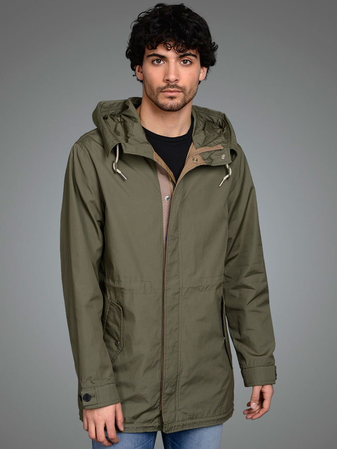 JOURNEY PARKA Dusty Olive